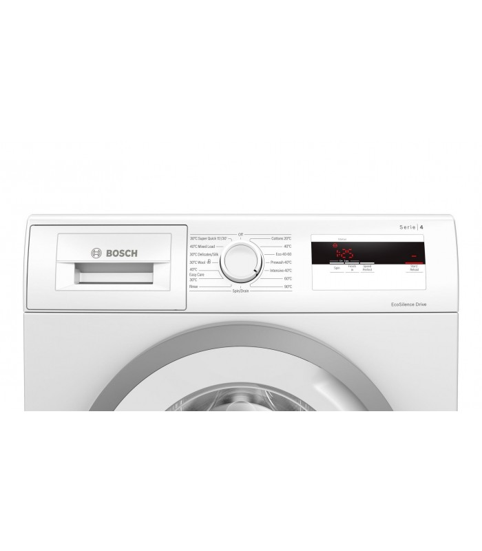 Bosch WAN28081GB 7kg 1400 Spin Washing Machine - White - A+++ Rated - 3