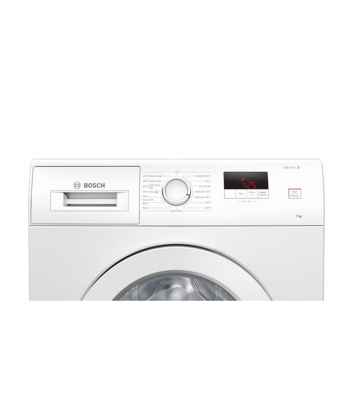 Bosch WAJ24006GB 7kg 1200 Spin Washing Machine - White - A+++ Energy Rated - 1