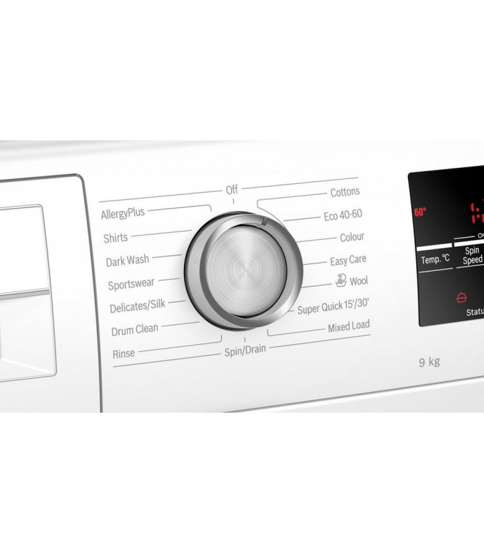 Bosch WAU28T64GB 9kg 1400 Spin Washing Machine - White - A+++ Rated - 1