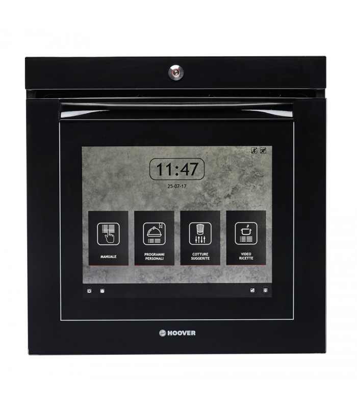 Hoover H-OVEN 700 EXTRA VISION Wifi Connected Built In Electric Single Oven - Black Glass - A Rated - 2