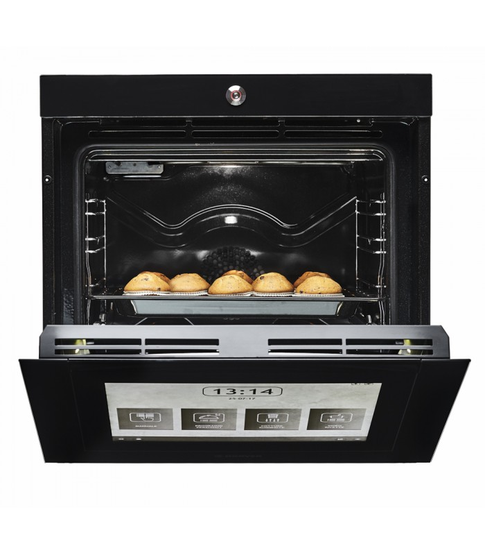 Hoover H-OVEN 700 EXTRA VISION Wifi Connected Built In Electric Single Oven - Black Glass - A Rated - 3